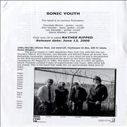 Click here for more info about 'Sonic Youth - Rather Ripped Press Pack'