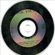 Sonic Youth Sugar Kane France CD single Promo