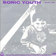 Click here for more info about 'Sonic Youth - Touch Me I'm Sick - Silver/purple - EX'