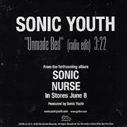 Click here for more info about 'Sonic Youth - Unmade Bed'