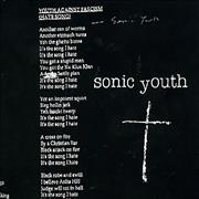 Click here for more info about 'Sonic Youth - Youth Against Facism'