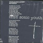 Click here for more info about 'Sonic Youth - Youth Against Fascism'