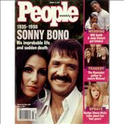Click here for more info about 'Sonny & Cher - People Weekly'