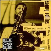 Click here for more info about 'Sonny Rollins - With The Modern Jazz Quartet'