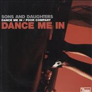 Click here for more info about 'Sons And Daughters - Dance Me In - Blue Vinyl + Red Sleeve'