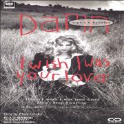 "Sophie B Hawkins Damn I Wish I Was Your Lover Japan 3"" CD single"