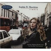 Sophie B Hawkins Timbre UK 2-CD album set