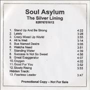 Click here for more info about 'Soul Asylum - The Silver Lining'