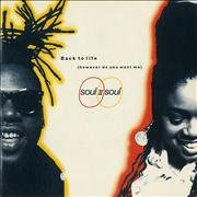 Click here for more info about 'Soul II Soul - Back To Life (However Do You Want Me)'