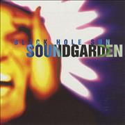 Soundgarden Black Hole Sun USA CD single Promo