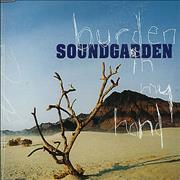 Soundgarden Burden In My Hand UK CD single