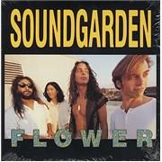 """Soundgarden Flower USA 10"""" vinyl"""