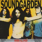 Click here for more info about 'Soundgarden - Hands All Over'