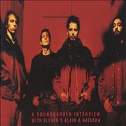 Soundgarden Into The Upside - Interview USA CD album Promo