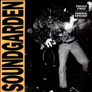 Soundgarden Louder Than Love - Red Vinyl USA vinyl LP Promo