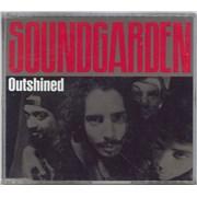 Soundgarden Outshined UK CD single