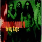 Soundgarden Rusty Cage - Promo USA CD single Promo