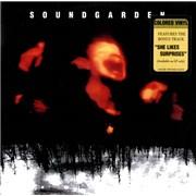 Soundgarden Superunknown - Blue vinyl/Clear vinyl USA 2-LP vinyl set Promo