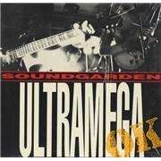 Soundgarden Ultramega OK - shrink USA vinyl LP Promo