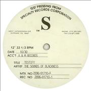 Click here for more info about 'Sounds Of Blackness - Testify - test pressing'