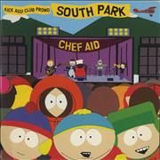 South Park Chef Aid - Nowhere To Run (Vapour Trail) UK CD single Promo