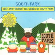 South Park Chef And Friends USA CD album Promo