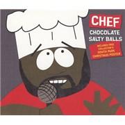 South Park Chocolate Salty Balls UK 2-CD single set