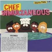 South Park Simultaneous UK CD-R acetate Promo