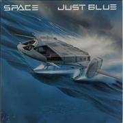 Click here for more info about 'Space (French) - Just Blue - Blue Vinyl'