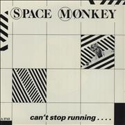 Click here for more info about 'Space Monkey - Can't Stop Running - Paper labels'