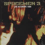 Click here for more info about 'Spacemen 3 - Live In Europe 1989 - Orange/Green splattered vinyl'