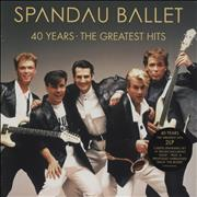 Spandau Ballet 40 Years - The Greatest Hits - Red Vinyl - Sealed UK 2-LP vinyl set