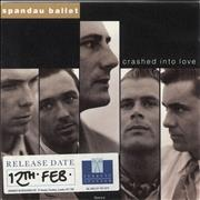 Click here for more info about 'Spandau Ballet - Crashed Into Love - Stickered'