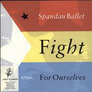 Click here for more info about 'Spandau Ballet - Fight For Ourselves - Stickered'