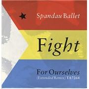 "Spandau Ballet Fight For Ourselves UK 12"" vinyl"