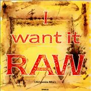 "Spandau Ballet Raw - Amnesia Mix UK 12"" vinyl"