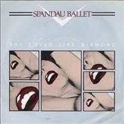 Click here for more info about 'Spandau Ballet - She Loved Like Diamond'