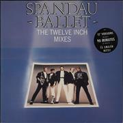 Spandau Ballet The Twelve Inch Mixes - Hype stickered UK 2-LP vinyl set