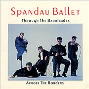 Click here for more info about 'Spandau Ballet - Through The Barricades - Across The Borders + ticket stubs'