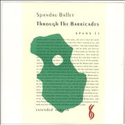 Click here for more info about 'Spandau Ballet - Through The Barricades'