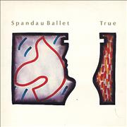 Click here for more info about 'Spandau Ballet - True - Gold Promo Stamped'