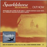 Click here for more info about 'Sparklehorse - Good Morning Spider / Sick Of Goodbyes - Display'