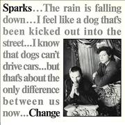"Sparks Change UK 12"" vinyl"