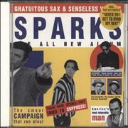 Click here for more info about 'Sparks - Gratuitous Sax & Senseless Violins'