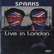 Sparks Live In London UK DVD