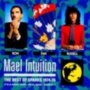 Sparks Mael Intuition The Best Of Sparks 1974/76 Japan CD album