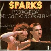 Click here for more info about 'Sparks - Propaganda / At Home At Work At Play'