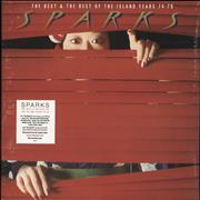 Click here for more info about 'Sparks - The Best & The Rest Of The Island Years 74-78 - Red Vinyl - Sealed'