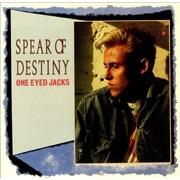 Spear Of Destiny One Eyed Jacks UK vinyl LP