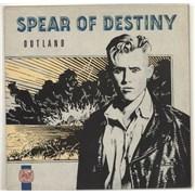 Spear Of Destiny Outland UK vinyl LP
